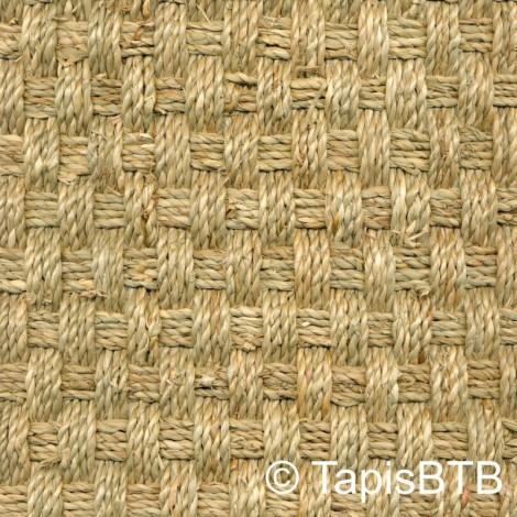 Seagrass tissage natte