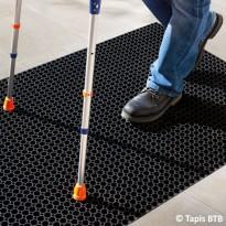 Caillebotis handicapés - Ambiance