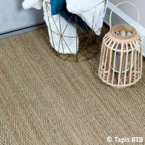 Seagrass fin tissage Chevrons - Ambiance