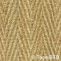 Seagrass tissage decor chevrons